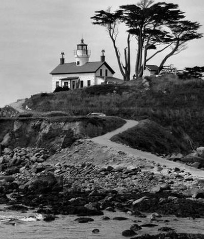 Lighthouse at Lowtide