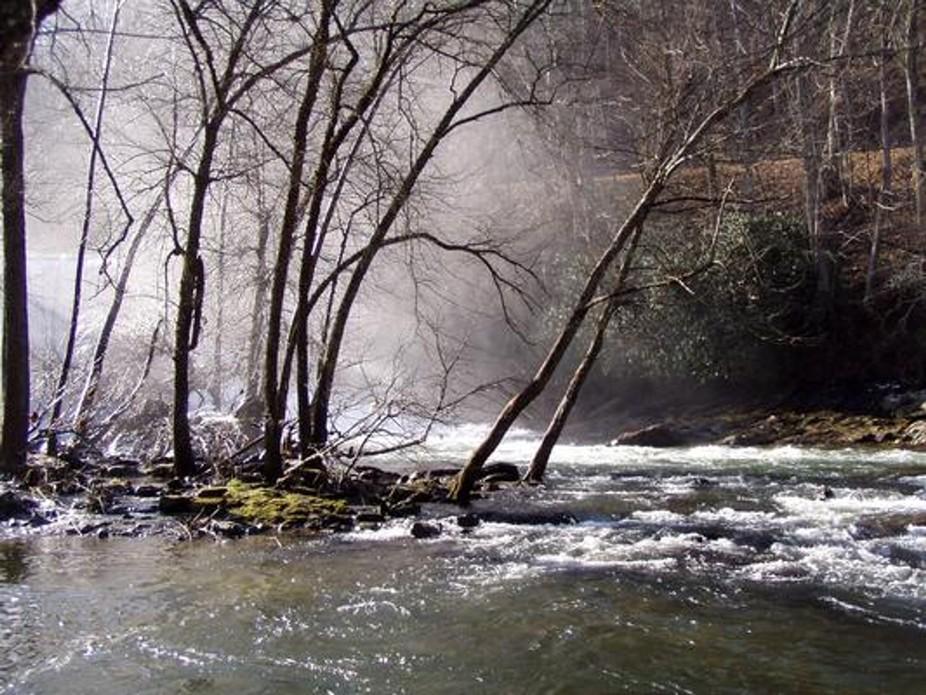 This was taken just below Ela Dam near Cherokee, NC.