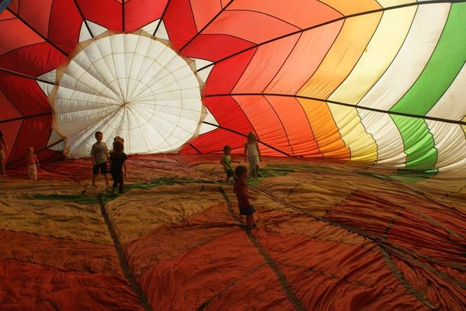 Balloon Walk-About by sendme37 - Kids Being Kids Photo Contest