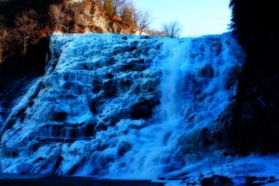 ithaca waterfall orton