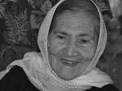 Grandma 80 years young