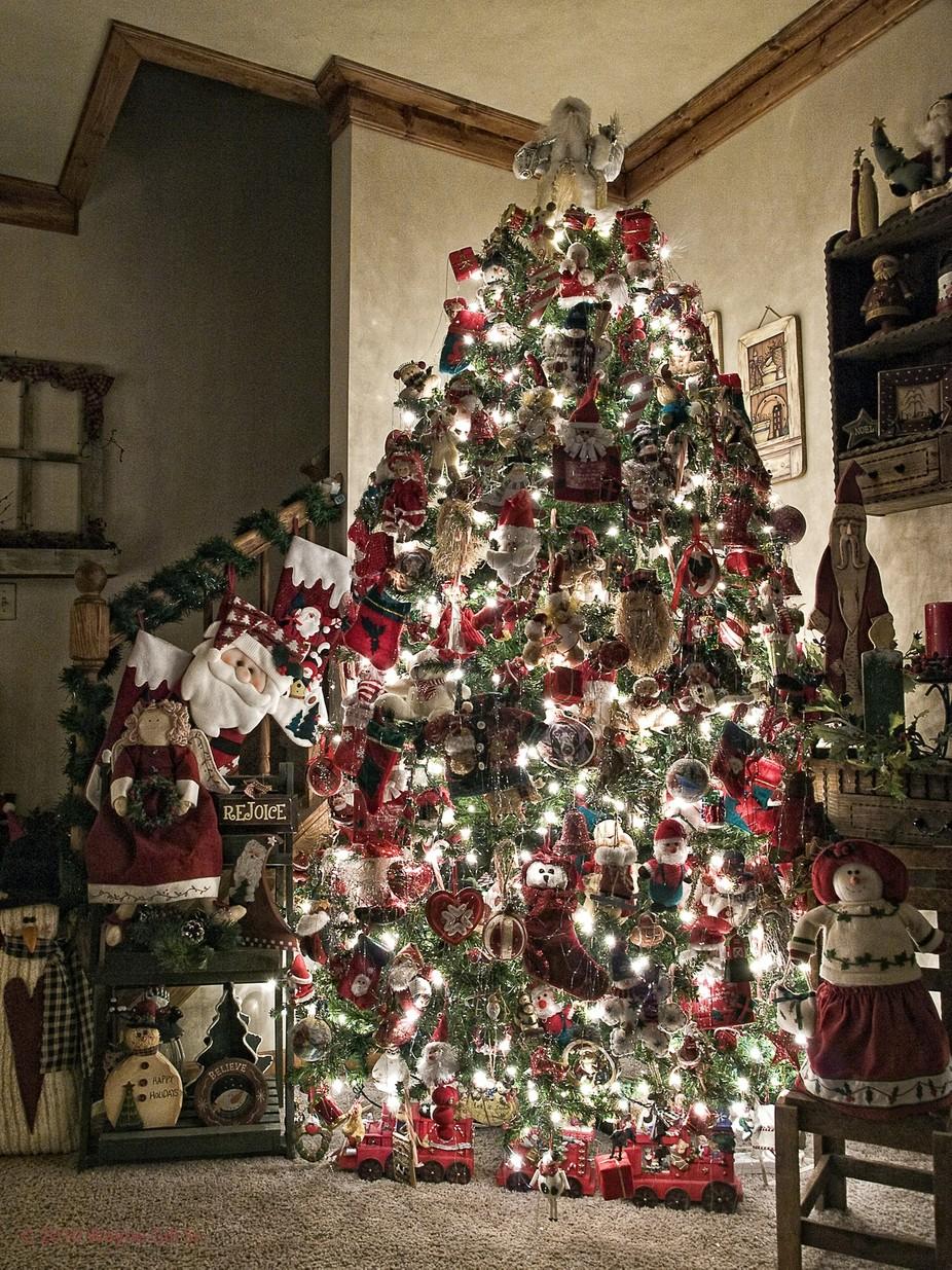 Oh Christmas Tree by Wayne_Sr - Holiday Lights Photo Contest 2017