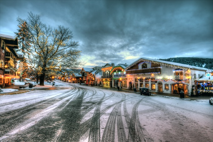 Christmas on Main Street by bgranger - Holiday Lights Photo Contest 2017