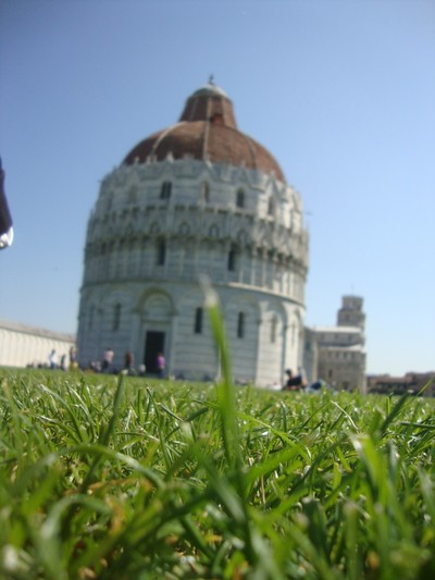 The Baptistery of the Cathedral of Pisa
