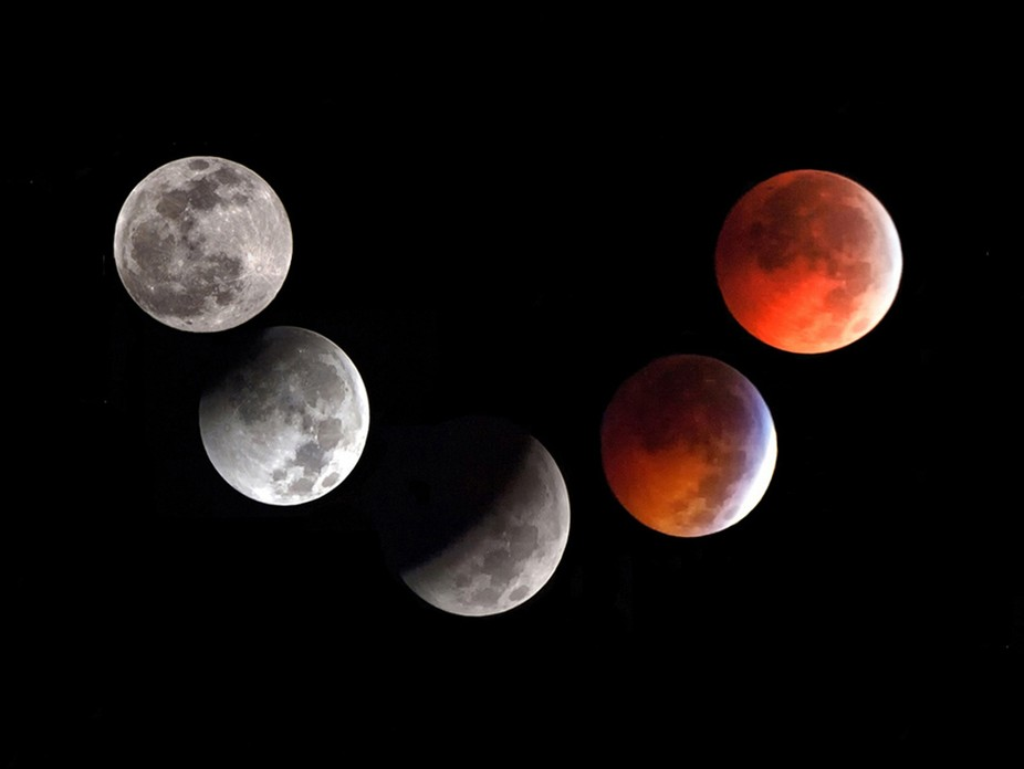 Lunar eclipse of December 21, 2010.