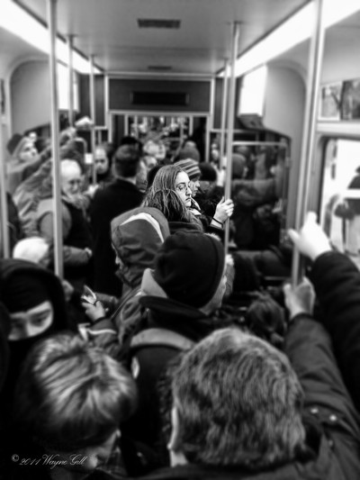 Crowded And Yet,  So Alone