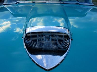 1958 Ford hood scoop em