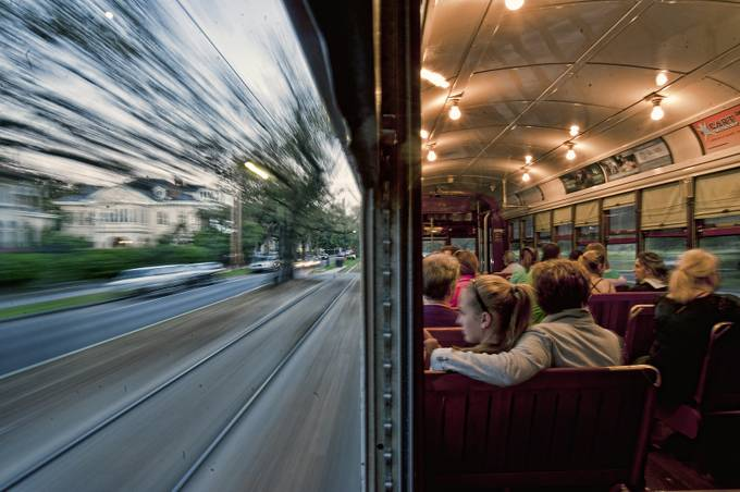 New Orleans at Warp Speed by dscham - Show Movement Photo Contest