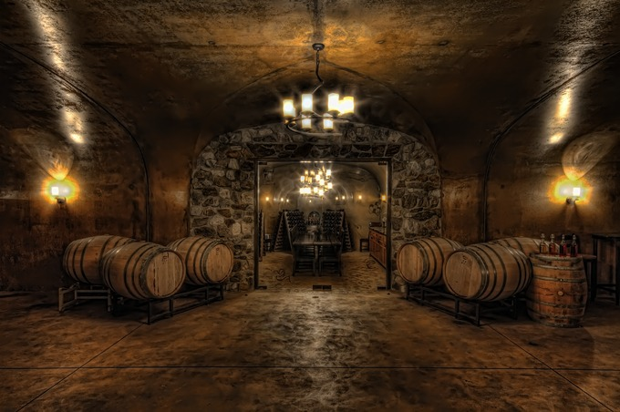 Karma Wine Cave by bgranger - HDR Photography Contest