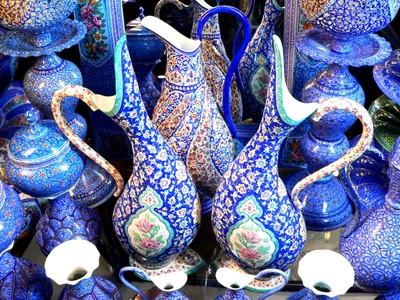 Isfahan handicraft shop