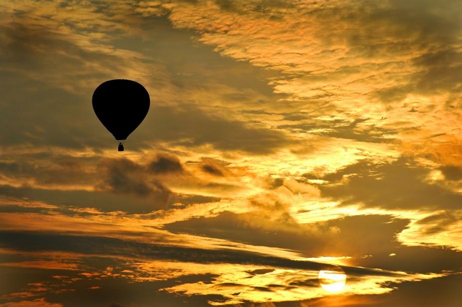 Balloon at Sun Rise
