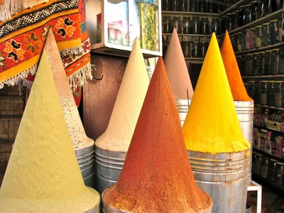 Spices of Morocco