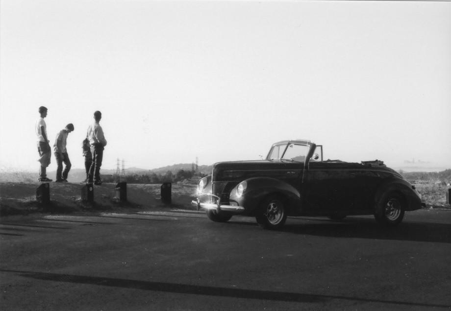 classy car and LA 1