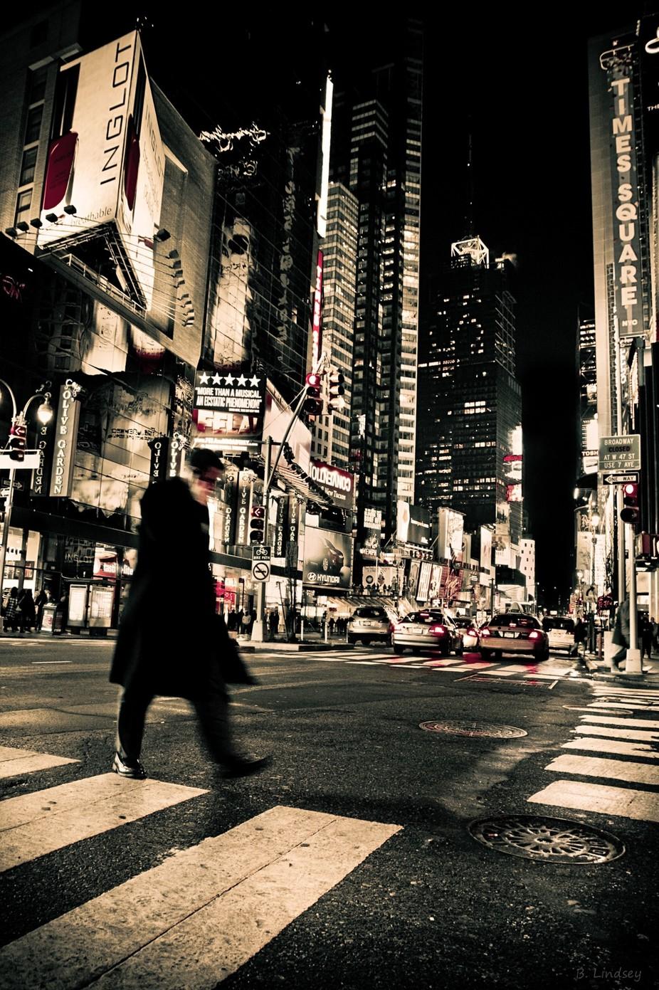 Times Square- New York, New York/Broadway