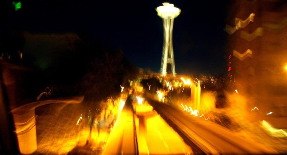 Seattle by a (dizzy) night