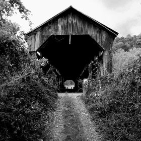 Traveling about the country especially in the backroads you never know what you'll come upon! I found this ole wooden covered bridge that was onc...