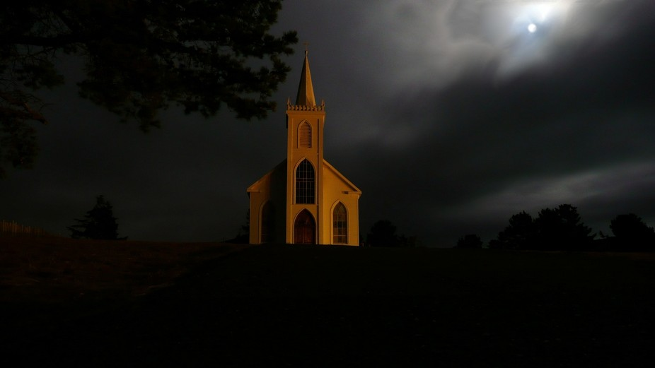 Bay Church Moonlight