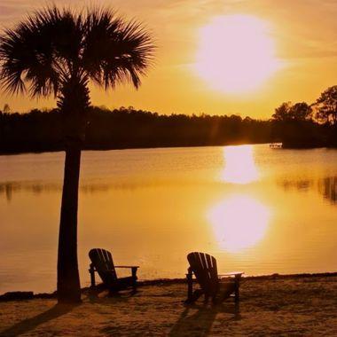 Taken at Lake Francis in Lexington, SC at sunset