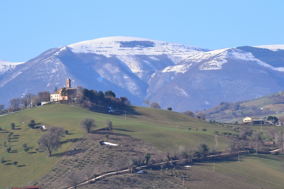 Spring is coming to central Italy