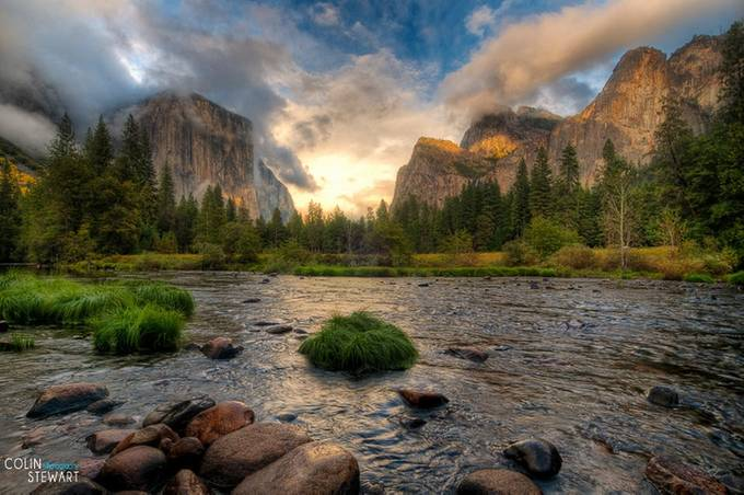 Merced River by aardvarksrule - Nature In HDR Photo Contest