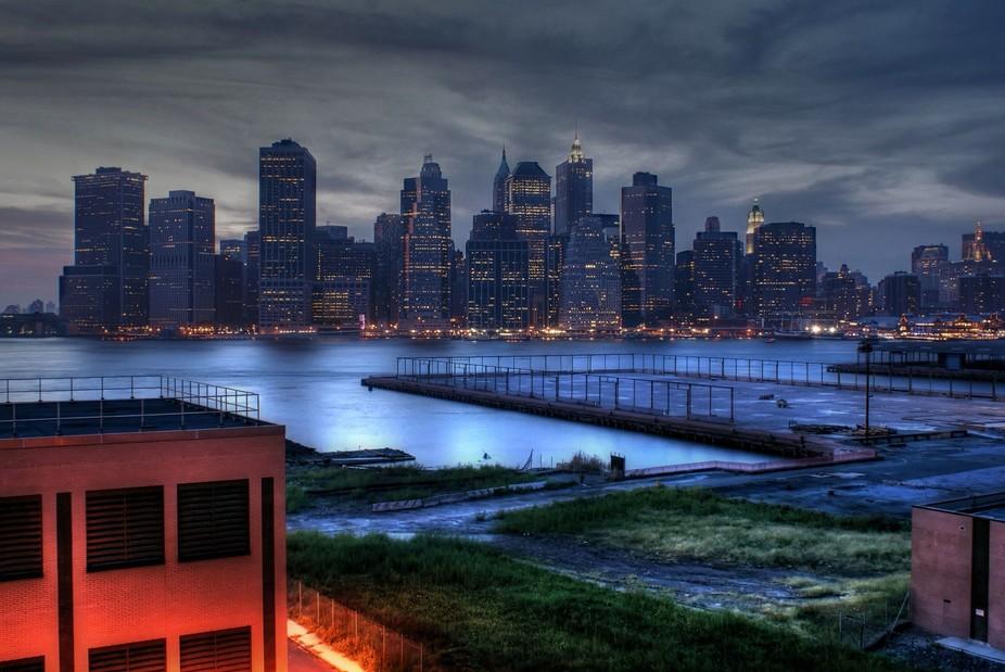 Brooklyn looking into Manhattan