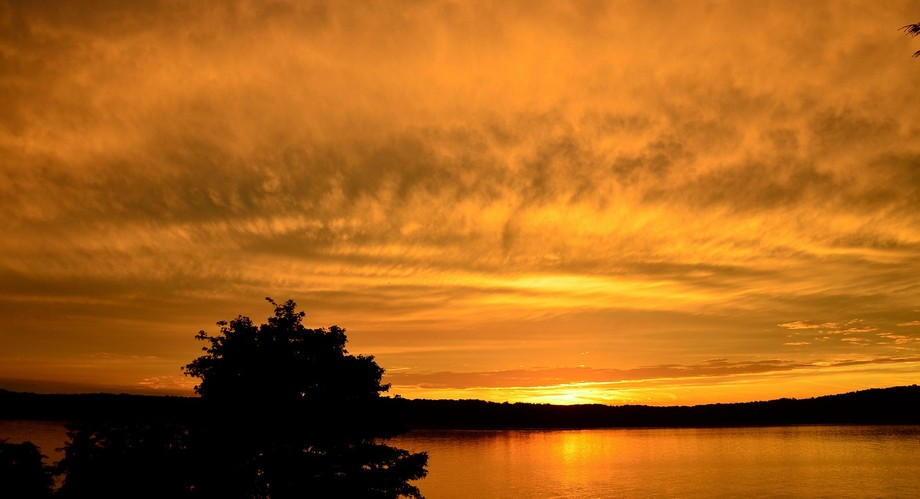 This Magnificent Sunset is one of a series in an effort to capture the beauty of the sun accross the mighty hudson.