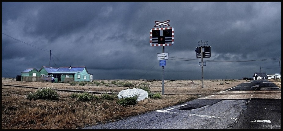 a couple of Pre dawn shots in very low light stitched together in PS. Location Dungeness, Kent. W...