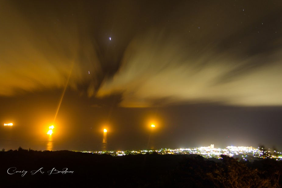 Saipan City Lights