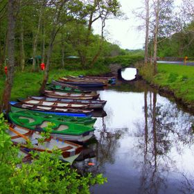 Landscape of the Boats of Ireland