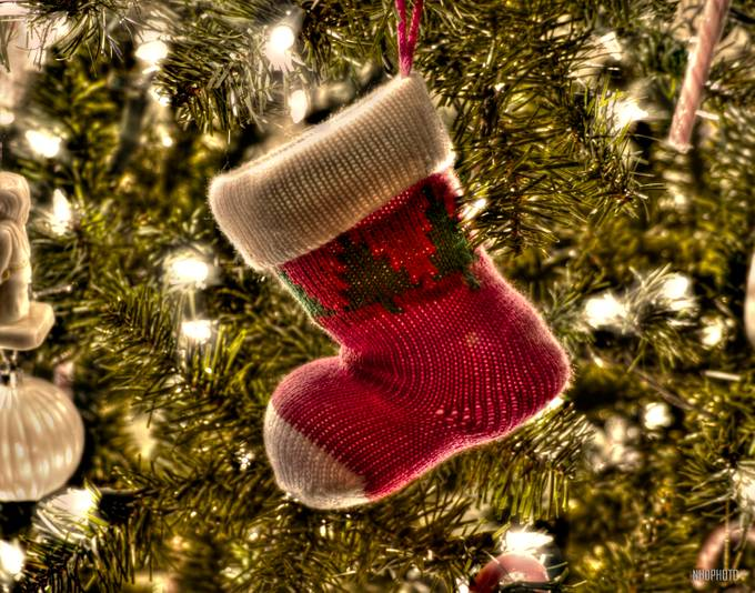 Christmas Stocking by nhdphoto - Holiday Lights Photo Contest 2017