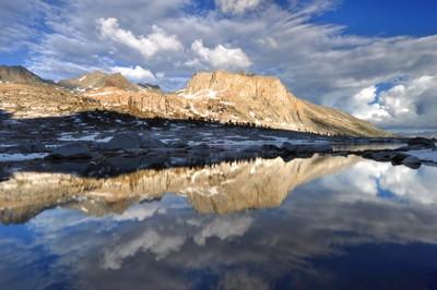 Post Storm in the Nine Lake Basin