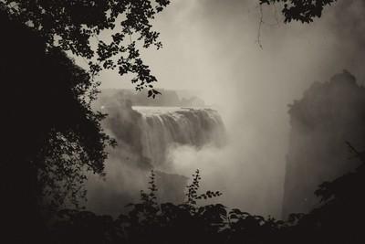 Victoria Falls at HIgh Flow