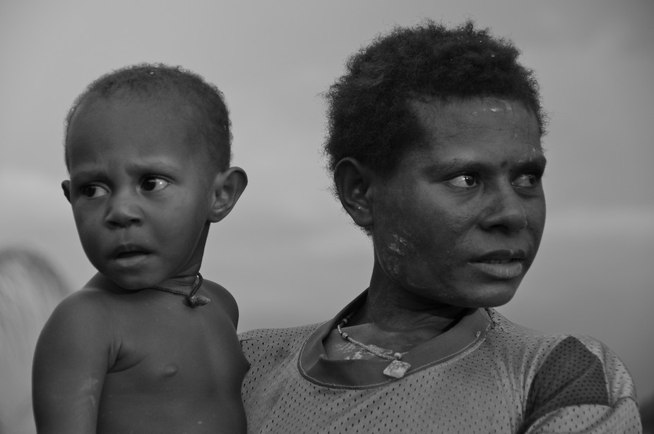 Mother and Child Papua New Guinea