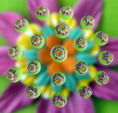 Colorful Drops 8