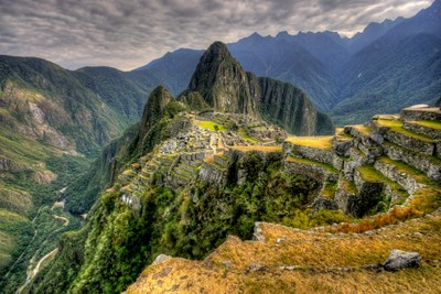 Destination reached: Machu Picchu
