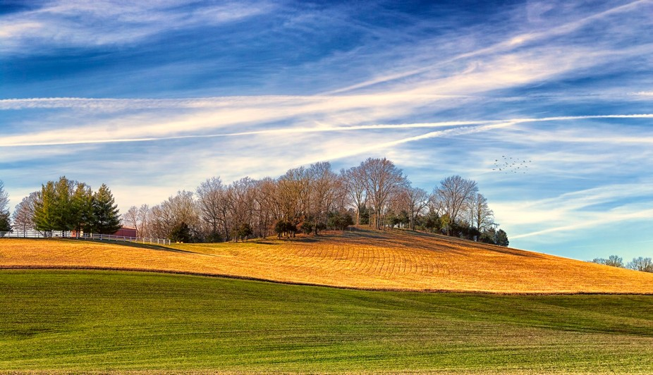 Rolling Plains - New Melle - On a photo road trip of the New Melle area we captured this vibrant ...