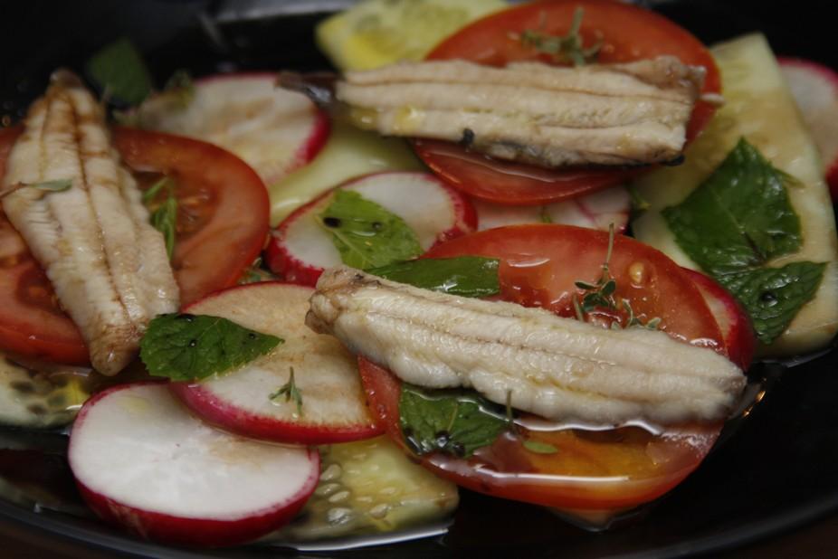 Steamed Sadrine Salad