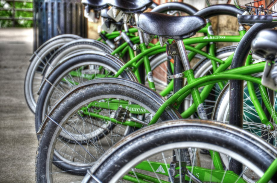 HDR_bikes