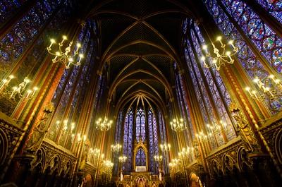 Inside St. Chapelle