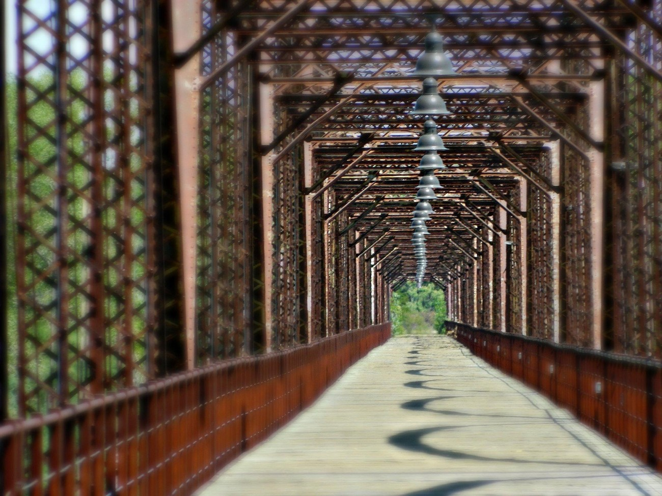 Canadian, TX Historical Walking Bridge