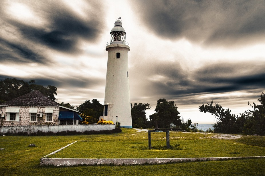 Lighthouse in Negril, Jamaica