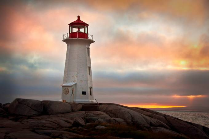 Peggy'a Cove, Nova Scotia by SFalagario_photos - Around the World Photo Contest