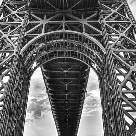 Underneath the GWB on the NJ side.