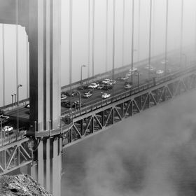 This photo was taken on August 2012 during my one day trip to San Francisco, California. Golden Gate Bridge is my favorite in San Francisco. The ...
