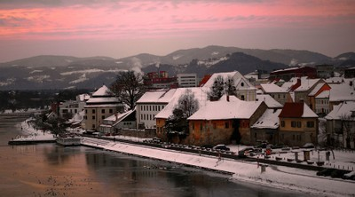Winter in Maribor ,Slovenia