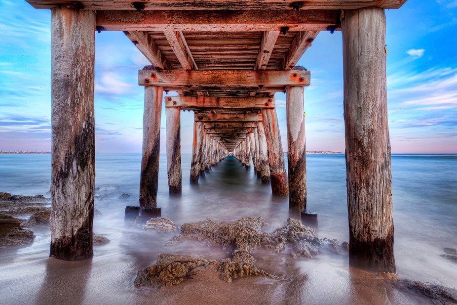 Point Lonsdale - Underneath the Pier