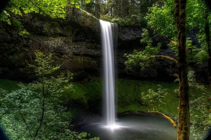 Silver Falls State Park by chipbhi - Beautiful Waterfalls Photo Contest