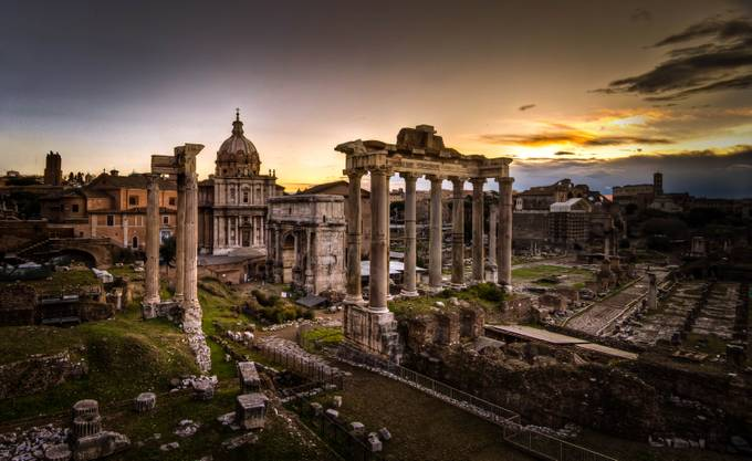 Roman Forum by BlueRidgeImagery - HDR Photography Contest