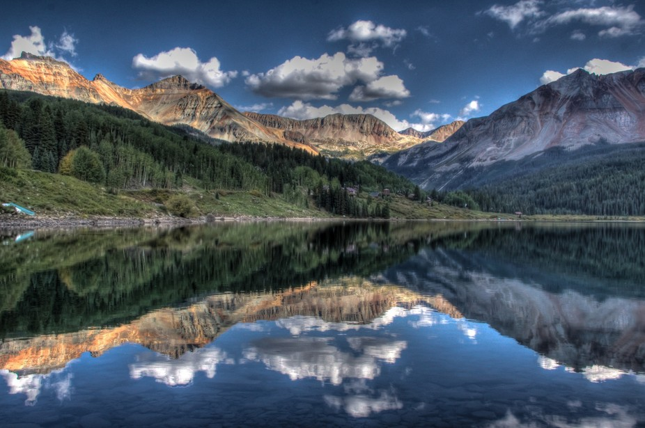 Trout Lake in Colorado, outside the small mountain town of Telluride.