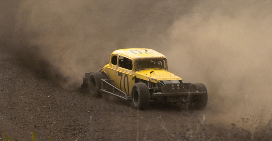Vintage car dirt races, Northport WA